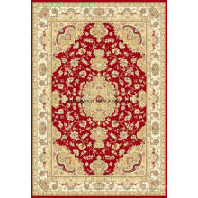 Wilton Machine Made Viscose Oriental Carpet Rug