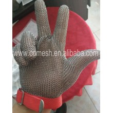 Anti cut stainless steel working safety gloves