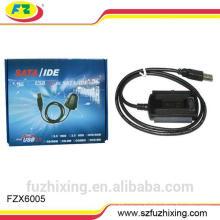 Кабель SATA & IDE высокого качества с USB2.0 до 2.5 / 3.5 ''