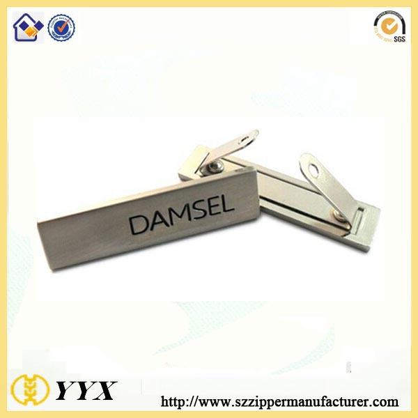 zinc alloy tags
