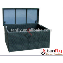 TF-9605 newest best selling PE Rattan Chest With Cushion