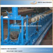 Quadratische Stahl Wasserrinne bilden Maschine / quadratische Dachrinne Maschine