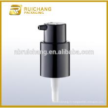 Allumer / éteindre le verrouillage Pompe à lotion en plastique / pompe à loches crème 18 mm / distributeur de pompe à lotion
