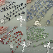 Religious Glass Beads Rosaries, Beads Rosary (IO-crosary001)