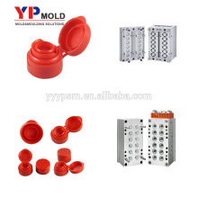 Strict quality safetywater cap ,PET PS PP flip top cap plastic injection bottle cap mould