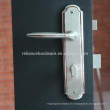 Placa RSL-10 con manija de bloqueo de puerta en conjunto 304SUS