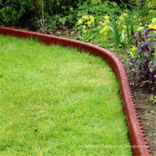 Colorful and Easy Install Playground Border Rubber Edging
