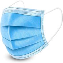 Máscara 3Ply médica não tecida descartável da máscara protetora