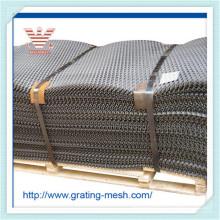 Mesh en métal galvanisé / acier / Rhombic en forme de métal