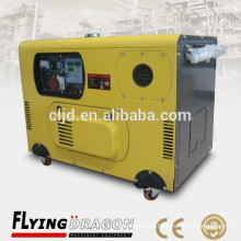 3.75kva electric gensets silent,small power 3kw low noises generators
