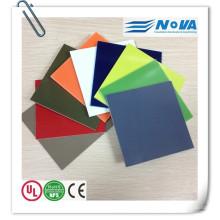 Folha de fibra de vidro colorido G10 para alça de faca