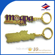 Alphabet Keychain With Letters and Iron Hoop