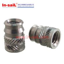 Porca de inserção de aço inoxidável roscada M2-M12