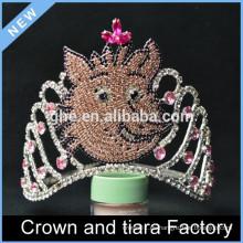 Niños de encargo de la corona de la reina, decoraciones de la corona del rey, coronas del desfile del rey