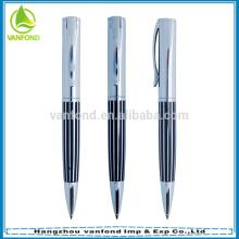 Caneta fábrica direto da alta qualidade luxo presente metal caneta com embalagem da caixa
