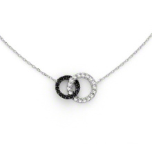 Fashion 925 Sterling Silver Jewellery Set Plated Necklace