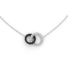 Мода стерлингового серебра 925 пробы с покрытием из ожерелья