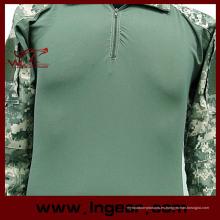 Ejército al aire libre Tactical camuflaje uniforme camisa impermeable Airsoft uniforme traje de rana