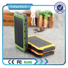 10000mAh 2-Port USB Solar Charger