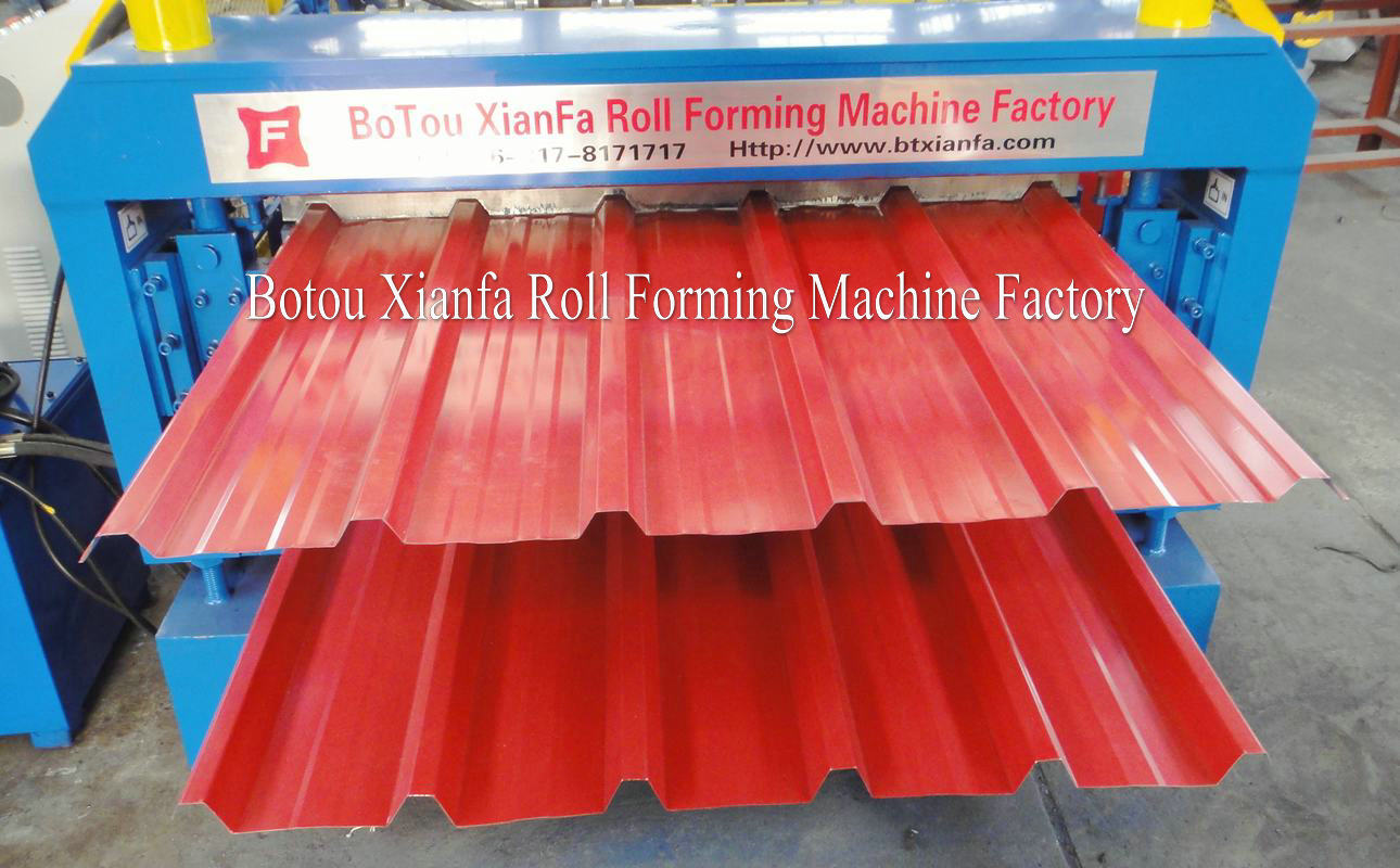 double deck ibr roll forming machine