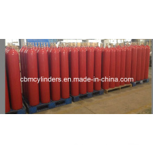 ISO7866 40L Aluminum CO2 Gas Cylinders
