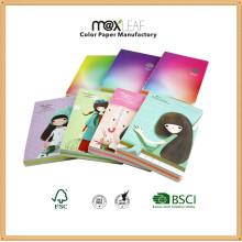 Цветная серия Дневная записная книжка Специальная печатная композиция Ноутбук