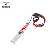 Factory Directory Silver Woven Lanyard Breakaway Design Sale Cool Lanyard for Key Manufacture