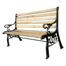 Garden Chair Cast Iron Outdoor Furniture Wood Steel Bench