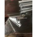 xn principal e cruz e ângulo Tceiling light gauge rolo de aço dá forma à máquina