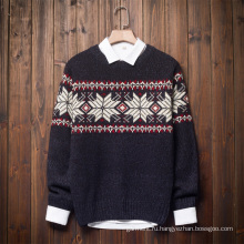 Оптовый 100% хлопок Сублимирующий вышивка печать флисовой свитер
