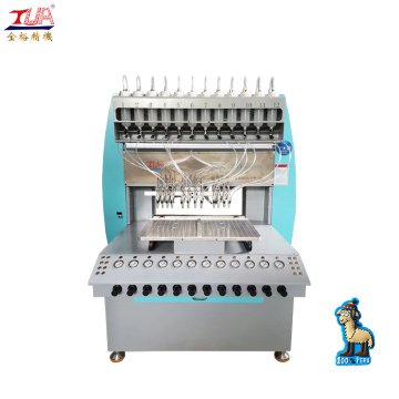 Rubber PVC Promotional keychain making machine with CE