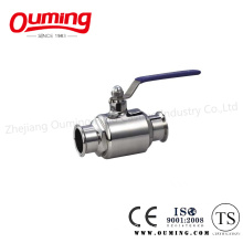 Sanitary Stainless Steel Clamp Ball Valve