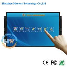 Pantalla ancha 21.5 pulgadas TFT monitor de marco abierto táctil con adaptador dc 12v