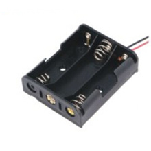 3 AA Battery Holder Box Case with Switch