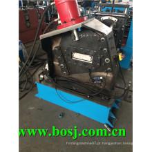 Galvanizado Bottom Plate Stereo Garage Roll formando equipamentos Rússia