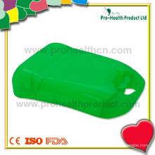 Caixa de kit de primeiros socorros de plástico vazio