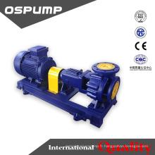 Pompe centrifuge chimique anti-déflagrante d'acier inoxydable d'IHF, pompe résistante à la corrosion, pompe cantilever de garniture mécanique