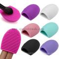 Free Samples Reinigungs-Tools Pinsel Ei Silikon Make-up Pinsel Reiniger