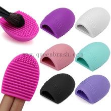 Herramientas de limpieza de muestras gratis Brush Egg Silicone Makeup Brush Cleaner