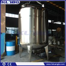 Réservoir de stockage liquide à double paroi en acier inoxydable KUNBO