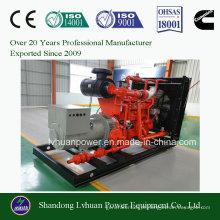 Gerador do gás natural de 60Hz ou de 50Hz 100kw com dossel silencioso para o GNL ou o GNV