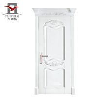 China Großhandel Design moderne Stil solide Innen Holz Türentwürfe