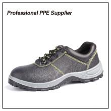 Zapatos de trabajo de acero de hierro genuino Zapatos de trabajo de acero de seguridad