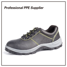 Genuine Leather Iron Steel Safety Shoes Work Shoe