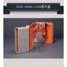 Boîte d'emballage de carton de papier de parfum de parfum avec le plateau intérieur