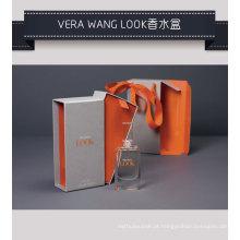 Caixa de empacotamento do cartão de papel do perfume da fragrância com bandeja interna