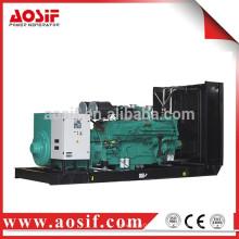 1200KW / 1500KVA generador de precios con cummins KTA50-GS8