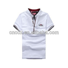 13PT1044 Cotton men short sleeve polo shirt