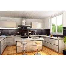 Armários de cozinha e mobiliário de cozinha de estilo moderno europeu