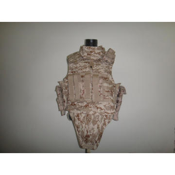 Nivel NIJ Iiia UHMWPE Flak Jacket para militares